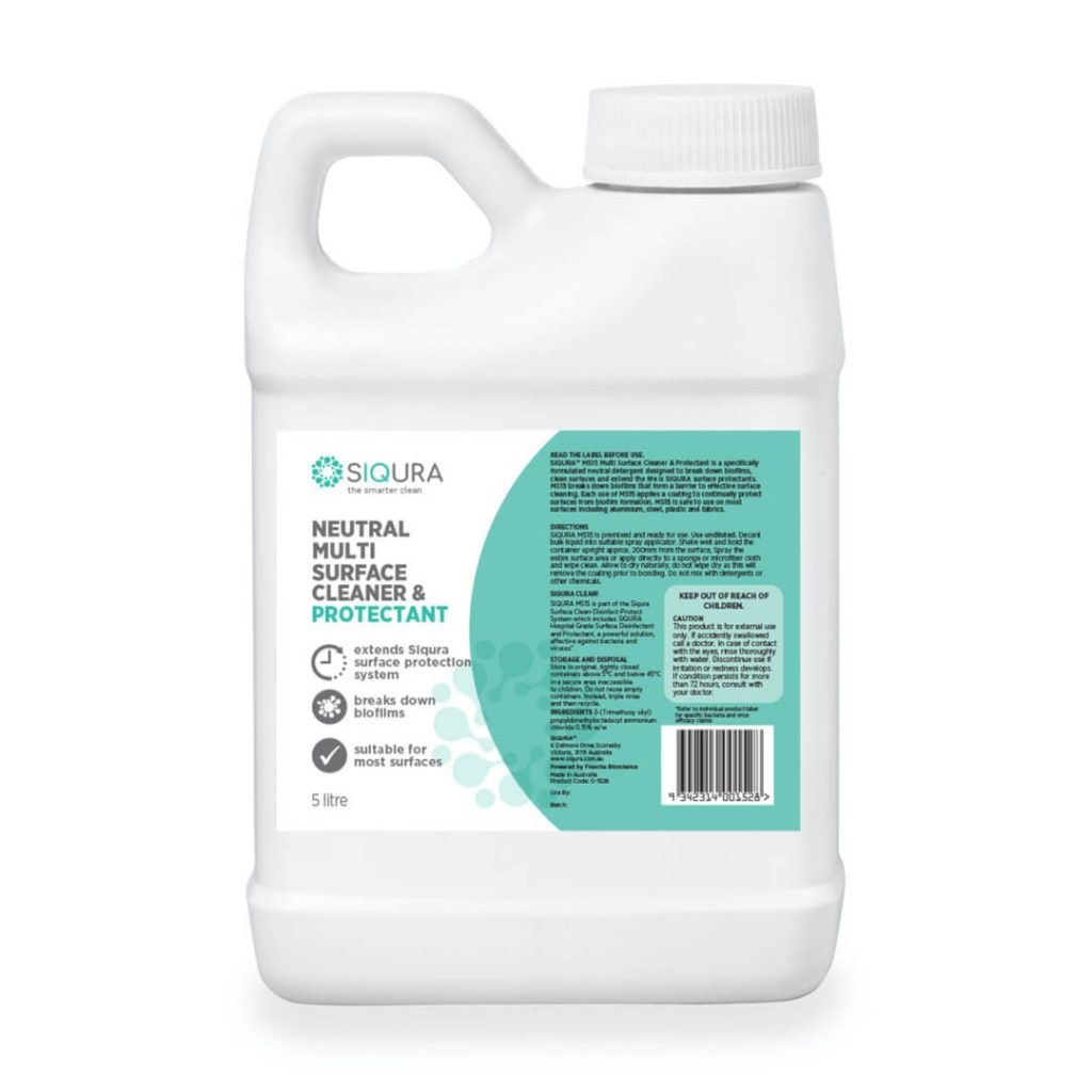 SIQURA™ Neutral Multi-Surface Cleaner & Protectant